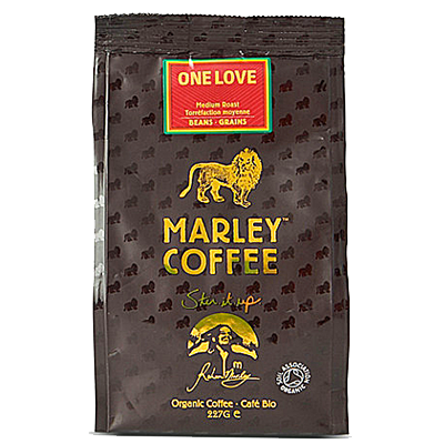marley coffee one love