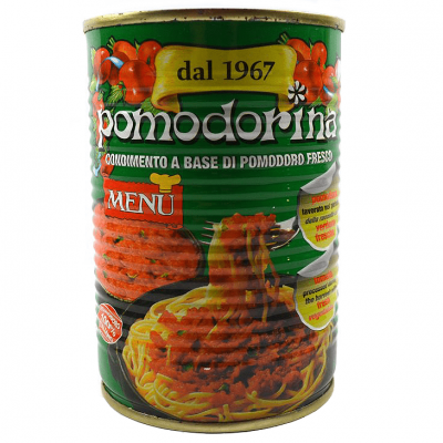 Menu Pomodorina 410g
