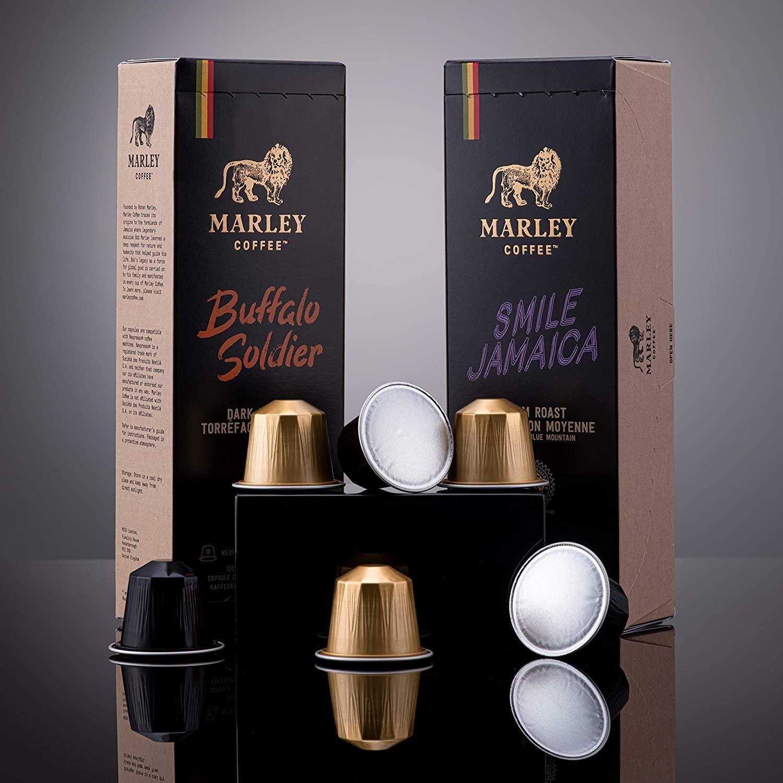 marley coffee capsules